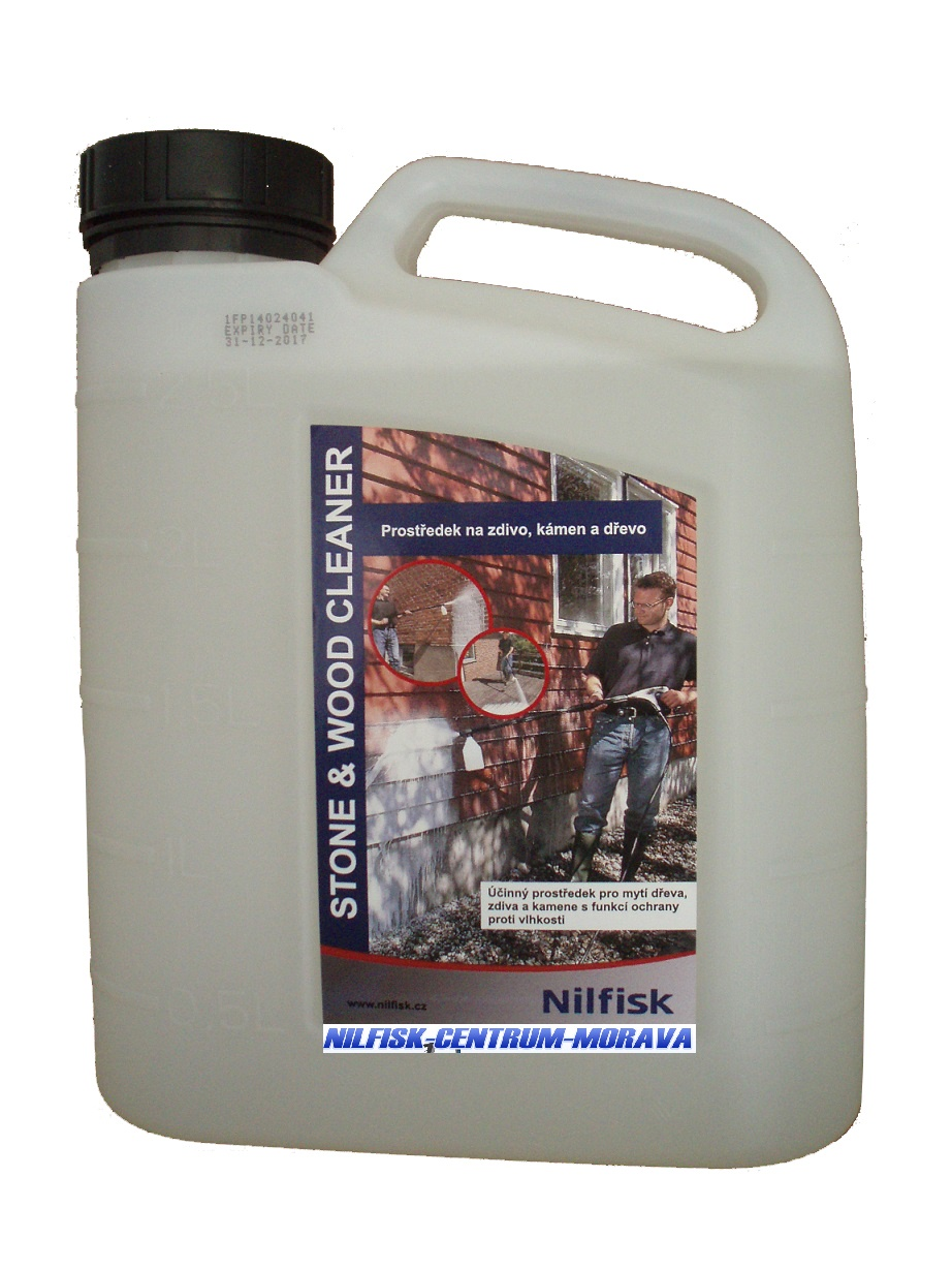 STONE & WOOD CLEANER 2.5 L